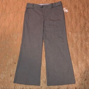 "GAP–""THE TROUSER"" GRAY PINSTRIPE SLACKS!!(BNWOT)"